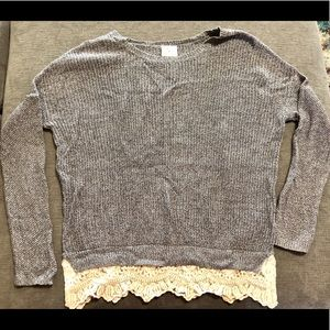Urban Outfitters Pins & Needles Lace Sweater med
